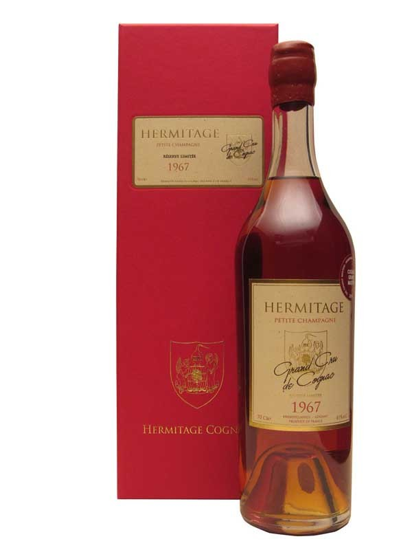 Hermitage 1967 Petite Champagne Cognac