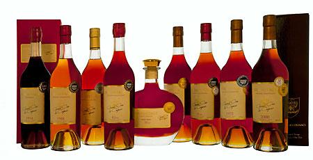 Award winning Hermitage Cognacs