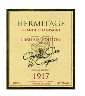 Limited Edition 1917 Vintage Cognac