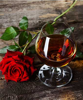 Valentines Day gifts for cognac and calvados fans