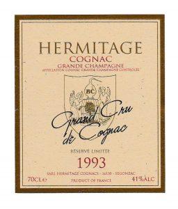 Cognac Labelling - Hermitage 1993