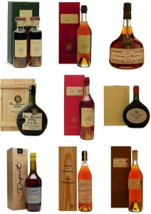 Brandies from every year