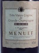 menuet cognac