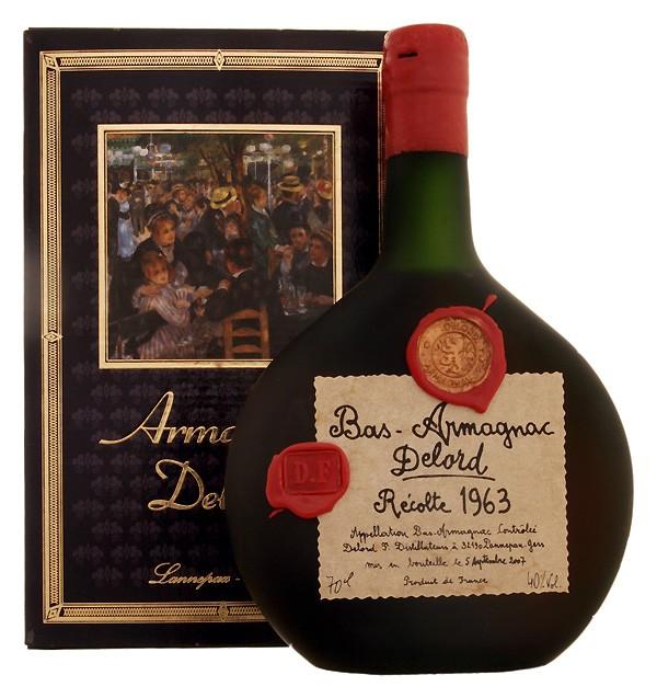 Delord Vintage Armagnac 1963