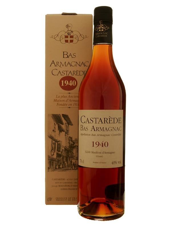 Castarède Vintage 1940 Bas Armagnac