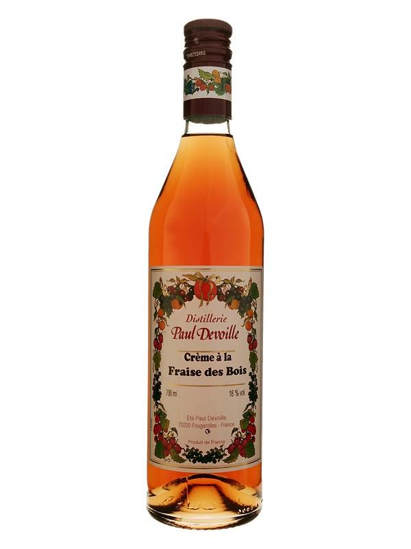 Paul Devoille - Crème à la Fraise de Bois Liqueur