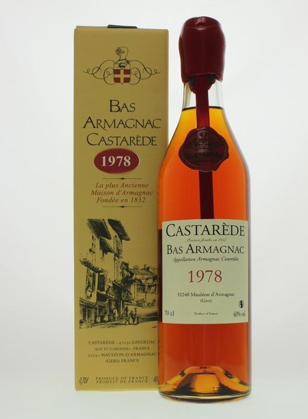 Castarède 1978 Bas Armagnac