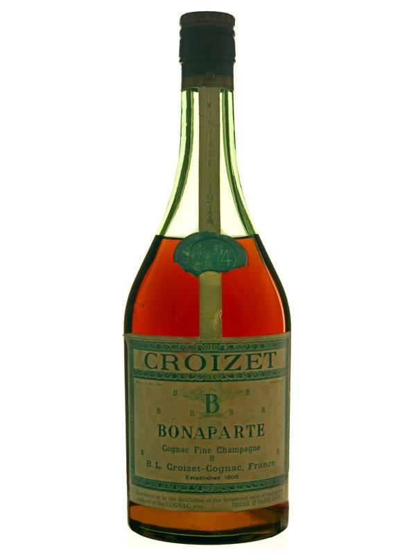 Croizet 1914 Grande Champagne Cognac
