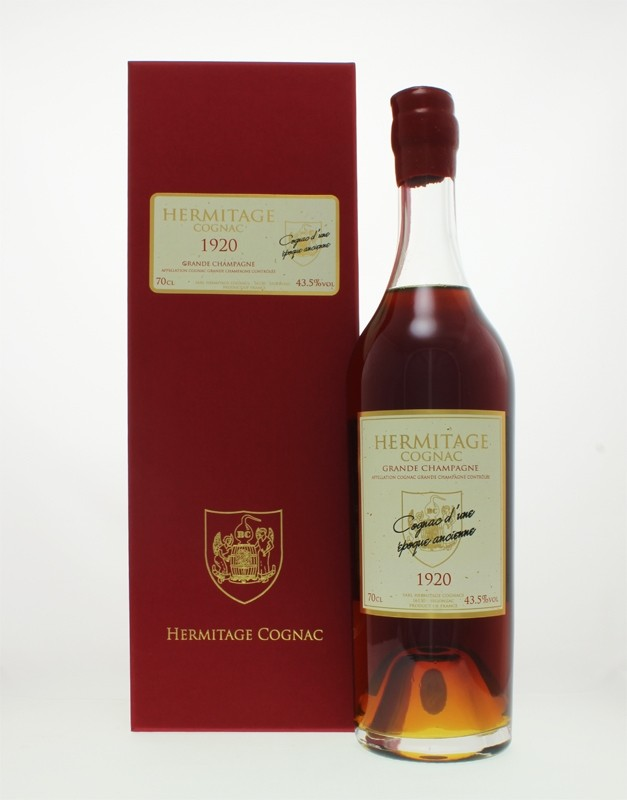 Hermitage 1920 Grande Champagne Cognac
