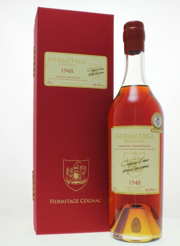 Hermitage 1948 Grande Champagne Cognac