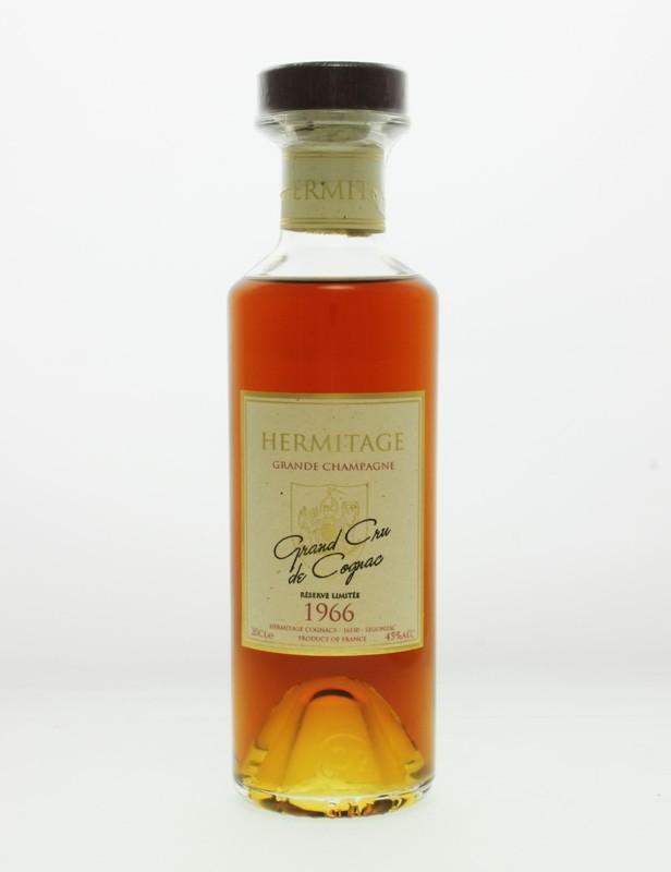 Hermitage 1966 Grande Champagne Cognac - 20cl