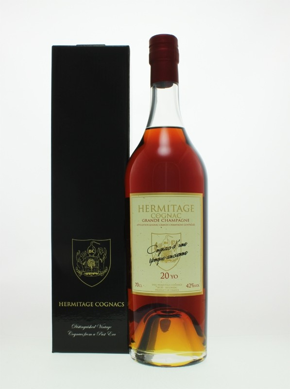 Hermitage 20 Year Old Grande Champagne Cognac (Exception)