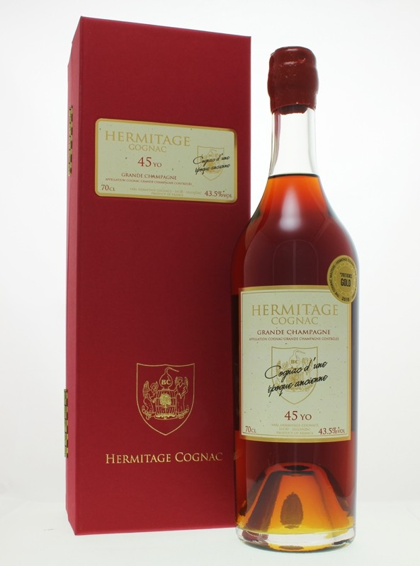 Hermitage 45 Year Old Grande Champagne Cognac