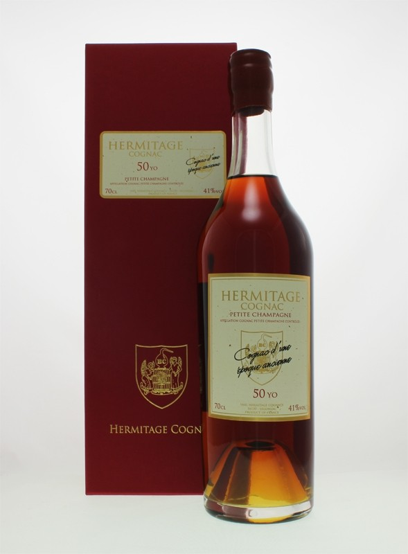 Hermitage 50 Year Old Petite Champagne Cognac (41%abv)