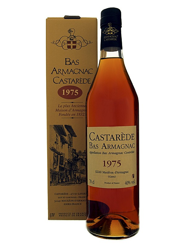 Castarède Vintage 1975 Bas Armagnac