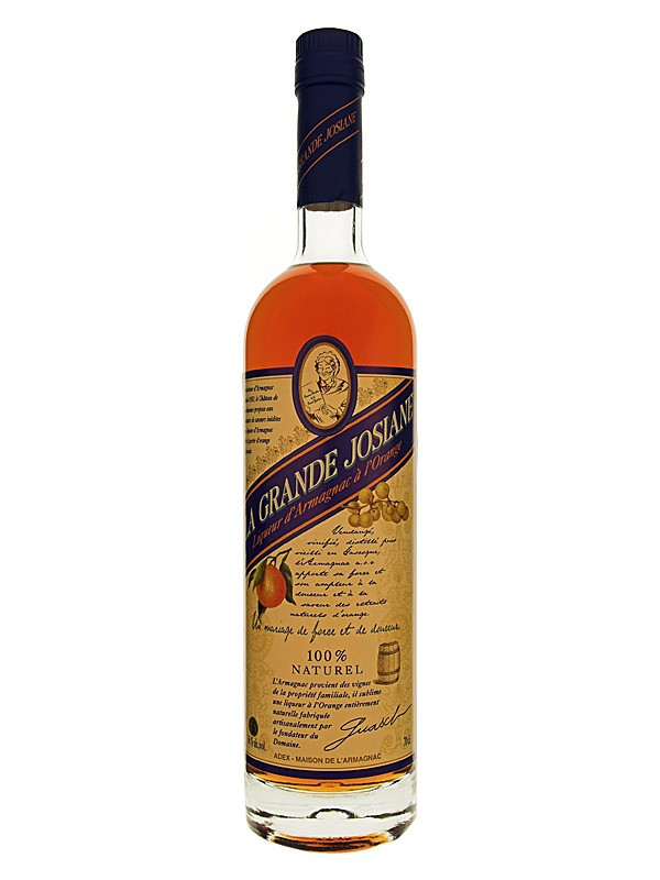 Chateau de Bordeneuve La Grande Josiane, Orange Armagnac Liqueur