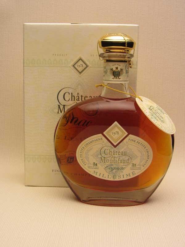 Château de Montifaud 1978 Petite Champagne Cognac (Carafe)