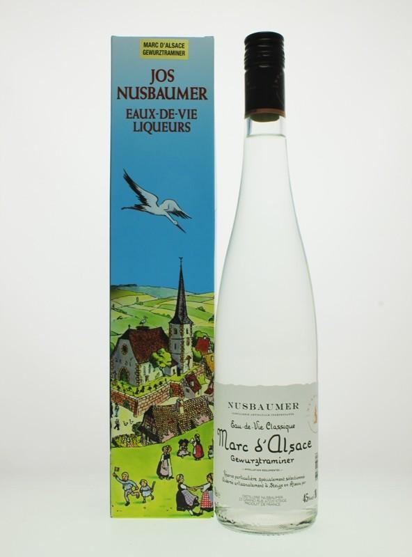 Nusbaumer - Marc d'Alsace Gewürztraminer Eau de Vie (Grape)