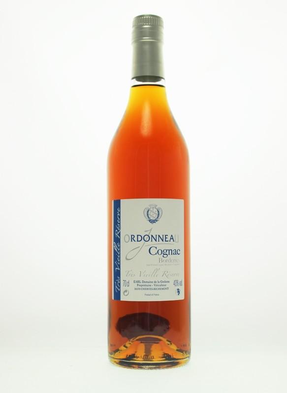 Ordonneau 25 Year Old Tres Vielle Reserve Borderies Cognac