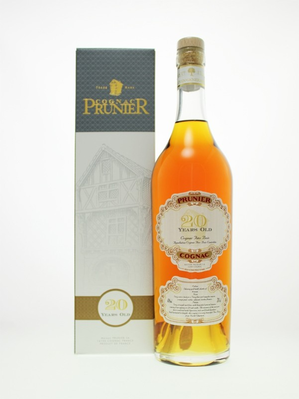 Prunier 20 Year Old Fins Bois Cognac