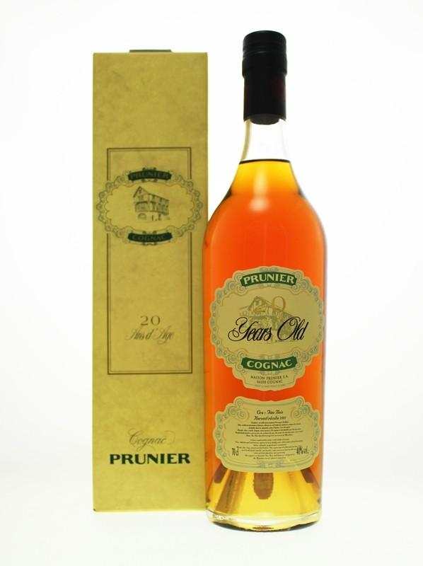 Prunier 20 Year Old Fins Bois Cognac - Harvested 1991