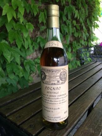 Henri de Lotherie 1948 Grande Champagne Cognac