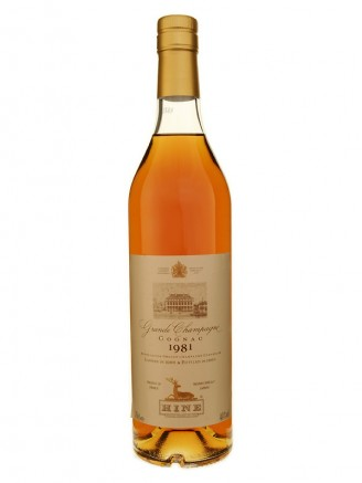 Hine 1981 Grande Champagne Cognac