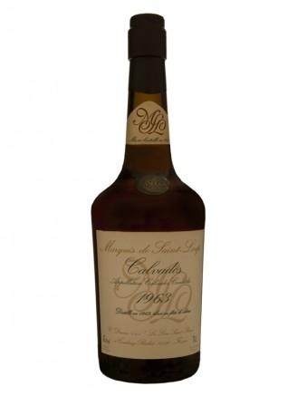 Calvados Drouin Marquis de Saint-Loup Vintage 1963