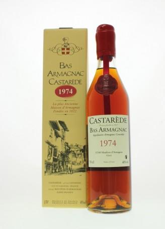 Castarède Vintage 1974 Bas Armagnac