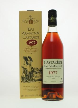 Castarède Vintage 1977 Bas Armagnac