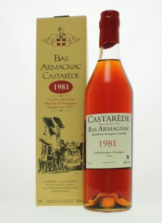 Castarède Vintage 1981 Bas Armagnac