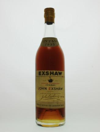 Exshaw 1935 Grande Champagne Cognac