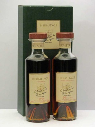 Brandyclassics hermitage 1914 50 year old cognac gift presentation negle Image collections