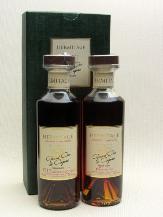 Hermitage 1917 & 60 Year Old Cognac Gift Presentation