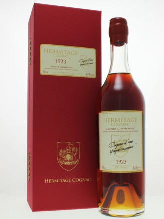 Hermitage 1923 Grande Champagne Cognac