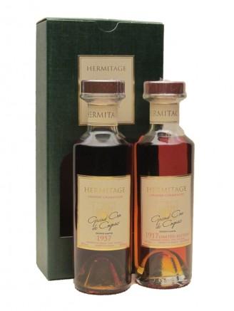Hermitage 1957 & 1917 Cognac Gift Presentation
