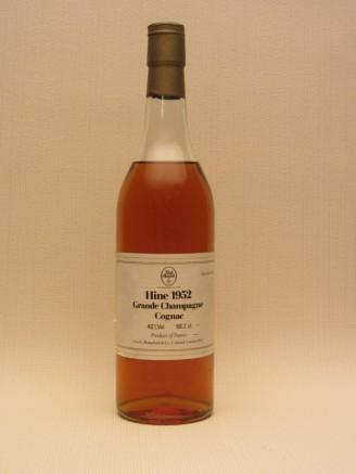 Hine 1952 Grande Champagne Cognac