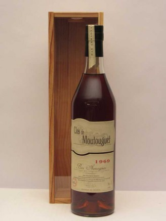 Domaine de Moutouguet 1969 Monguilhelm Bas Armagnac (Wooden Box)