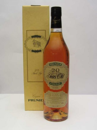 Prunier 20 y.o. Cognac - Harvested 1986