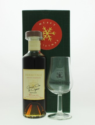 Christmas Gift Set - Hermitage 45 Year Old Grande Champagne Cognac