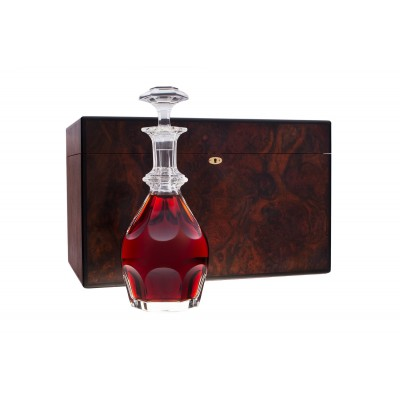 Hermitage Handmade Humidor with 1877 Cognac & Baccarat Decanter
