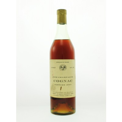 Army & Navy Stores 1924 Fine Champagne Cognac