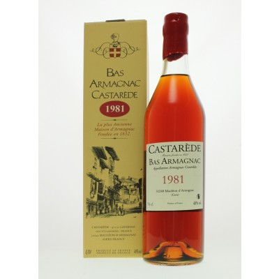 Castarède 1981 Bas Armagnac