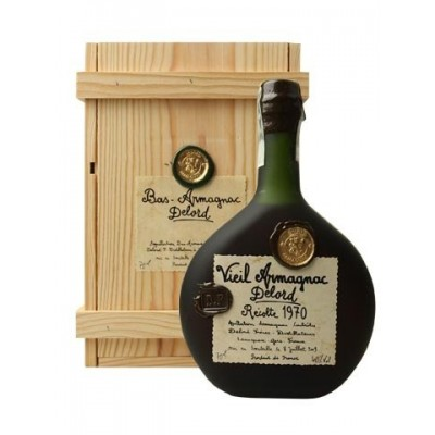 Delord 1970 Bas Armagnac - Slightly Damaged Box