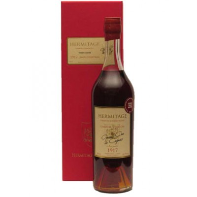 Hermitage 1917 Grande Champagne Limited Edition Cognac