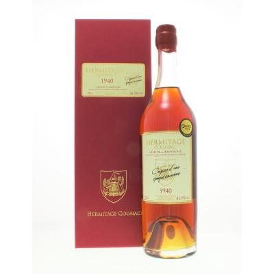 Hermitage 1940 Grande Champagne Cognac