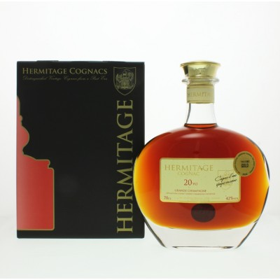Hermitage 20 Year Old Grande Champagne Cognac