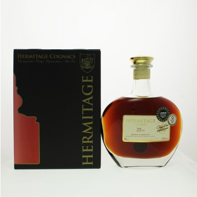 Hermitage 25 Year Old Grande Champagne Cognac