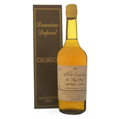 Calvados Dupont Vintage 1989