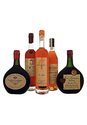 Armagnacs, the fruit of the Gascons